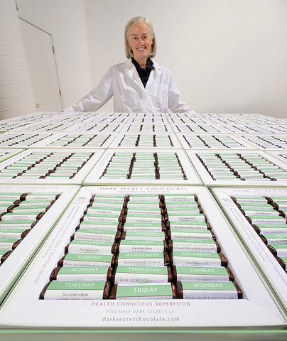 DARK SECRET chocolate creator Susan Pitkin
