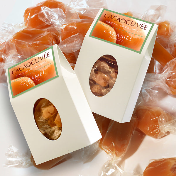 Caramel with Vanilla beans - Two 8oz boxes