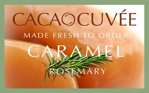 Caramel with Rosemary - Two 8oz boxes