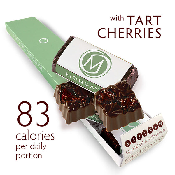 DARK SECRET chocolate SUPERFOOD SUPERPACK - 7 Day Box with Tart Cherries