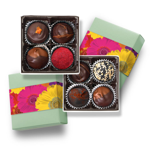 Special Mother's Day 2-4pc boxes / fresh chocolate truffles