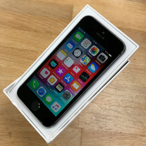 iPhone 5s 16GB Space Grey EE