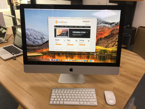27in iMac with 500GB SSD & DVD SuperDrive