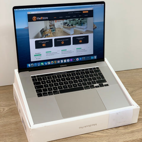 Ex Demo 16in MacBook Pro i9 Silver