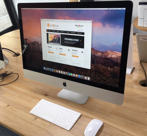 27in 5K Slimline iMac 4GB Video RAM