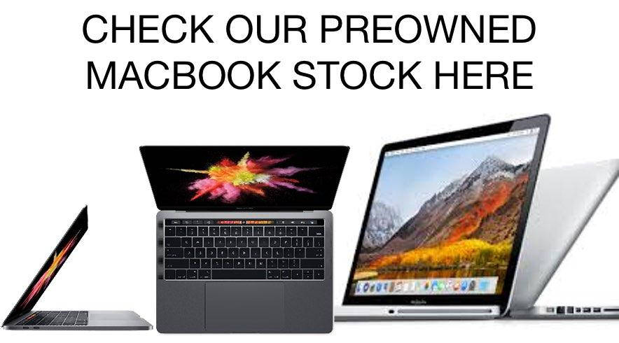 Preowned MacBooks