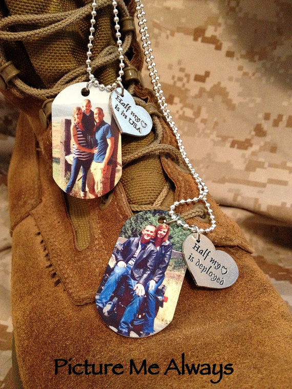 Deployment Dog Tags