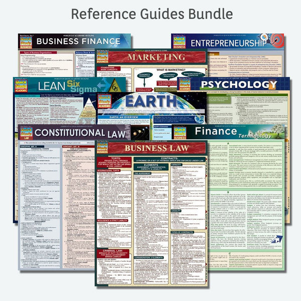 Reference Guides Bundle