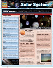 Solar System Laminated Reference Guide