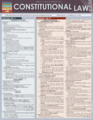 Constitutional Law Laminated Reference Guide