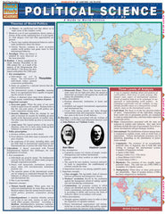 Political Science Laminated Reference Guide