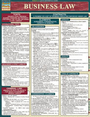 Business Law Laminated Reference Guide