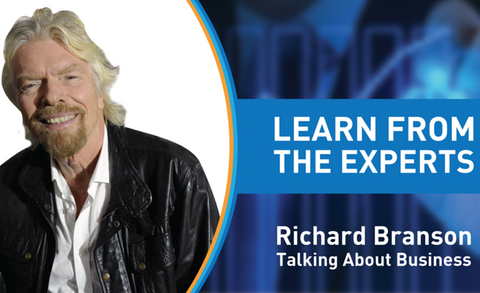 Learn From The Experts - Richard Branson, Virgin