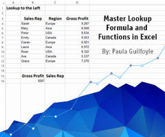 Preview of Master Lookup Formula and Functions in Excel