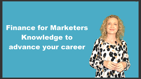 Preview of Finance for Marketers - Knowledge to Advance Your Career