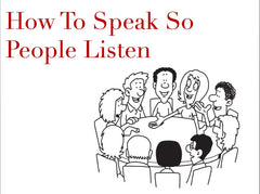 Preview of How To Speak So People Listen