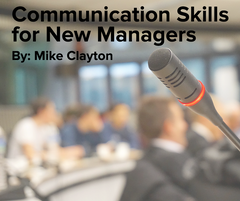Preview of Communication Skills for New Managers