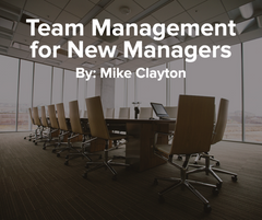Preview of Team Management for New Managers