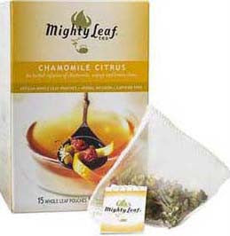 Organic Chamomile Citrus Tea by Mighty Leaf