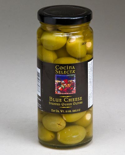 Blue Cheese Stuffed Olives by Cocina Selecta