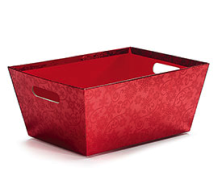 Red Snowflake Gift Box