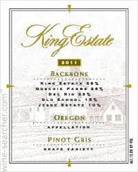 Pinot Noir 'Backbone' by King's Estate (Limited Production)