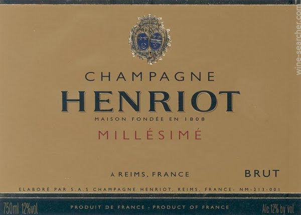 Champagne by Henriot
