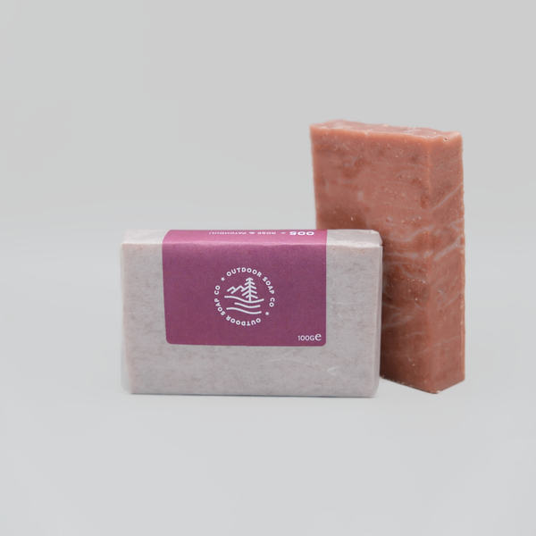 Rose Geranium and Patchouli Soap Bar