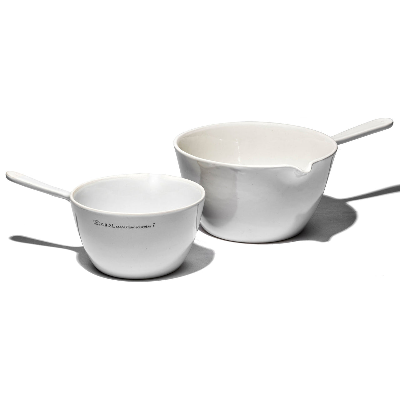 Small Puebco Laboratory Equipment Ceramic Pan