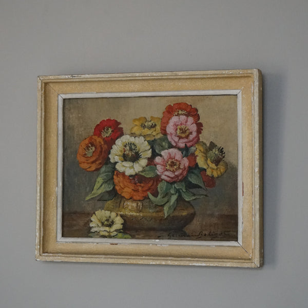 French Still Life Oil Painting