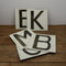 Hand Painted Cricket Board Letters