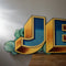 Hand Painted Jets Fairground Sign