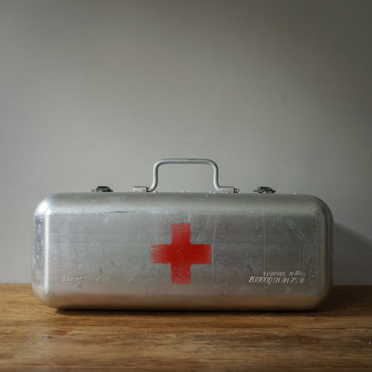 Large Vintage Hungarian First Aid Box