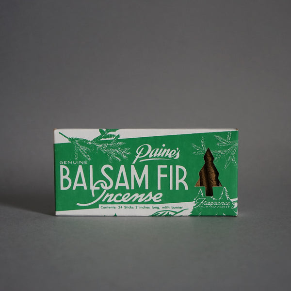 Paines Balsam Fir Incense