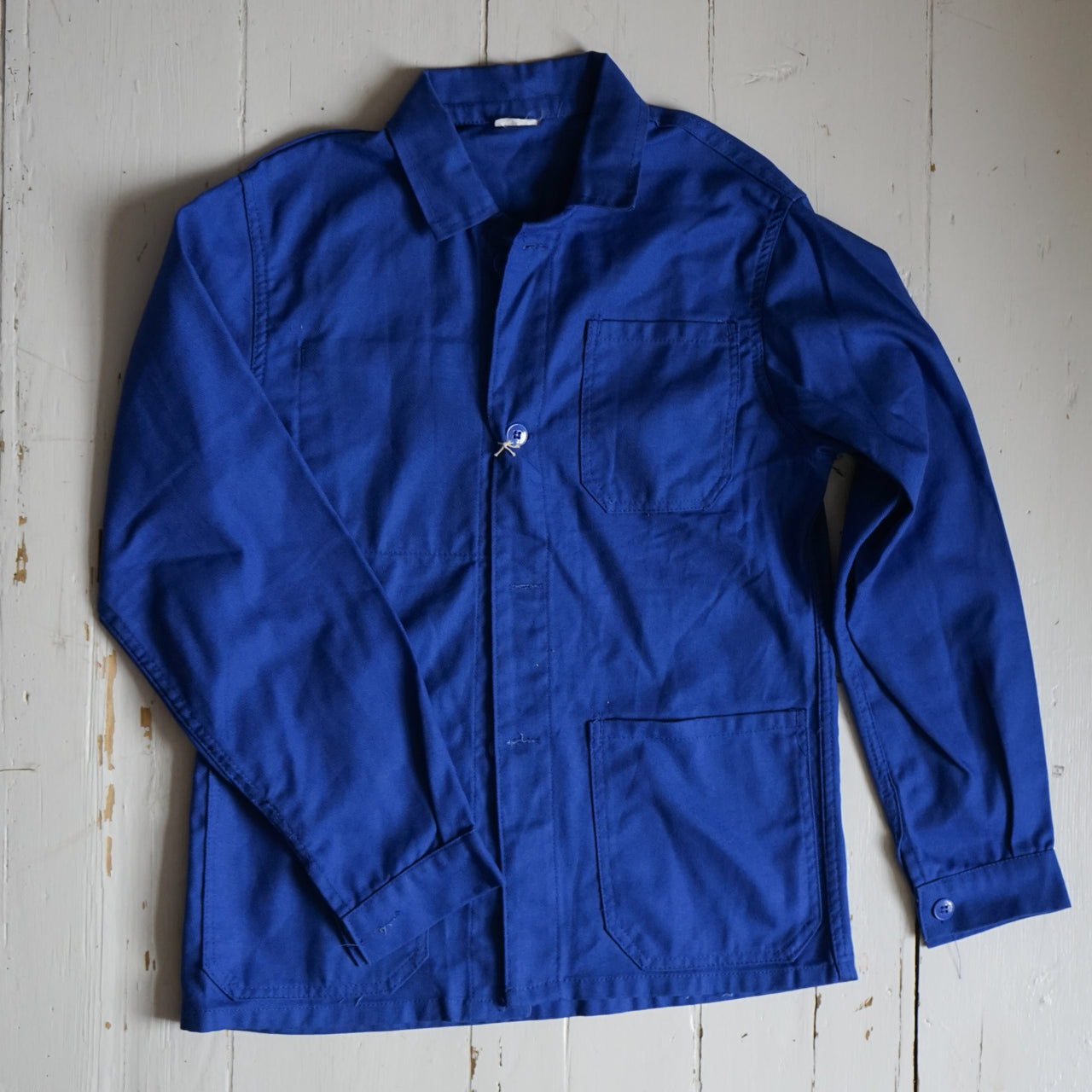 Vintage French Workwear Jacket - Extra Small