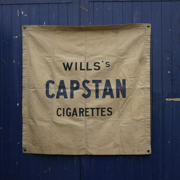 Wills's Capstan Cigarette Advertising Flag