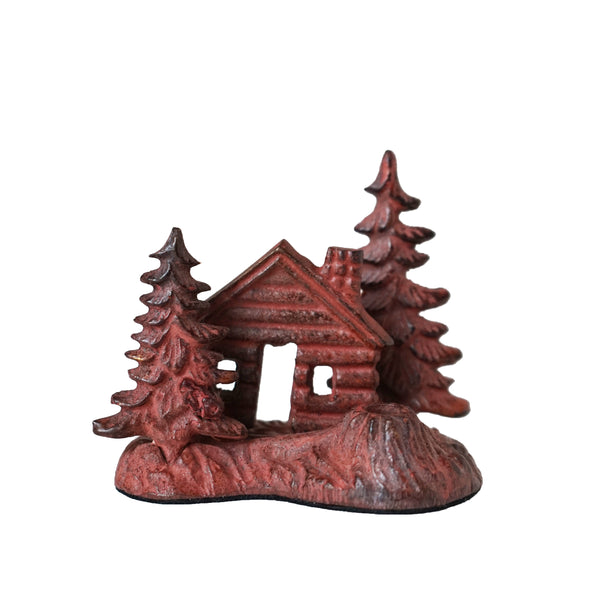 Brass Cabin Incense Burner