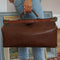 Leather & Brass Dentist Bag