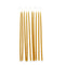 Hand Dipped Long Beeswax Party Candles - Set of 10