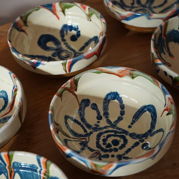 Small Romanian Slipware bowls