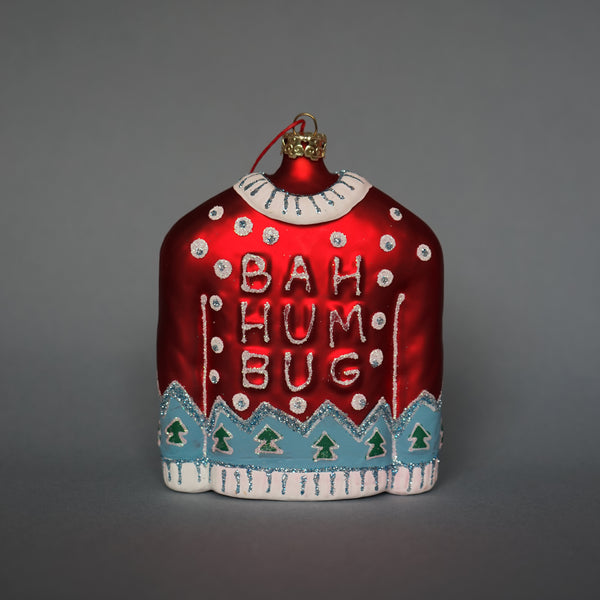 'Bah Humbug' Christmas Jumper Decoration