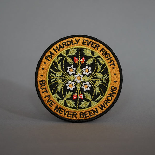 Stay Home Club 'Never Been Wrong' Patch