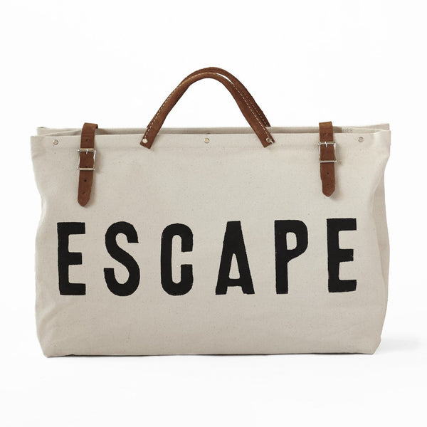 'Escape' Canvas Utility Bag