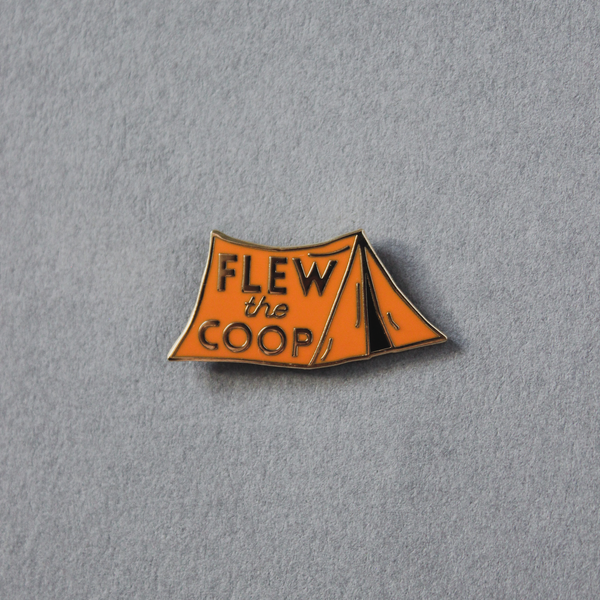 The Hendersons Own 'Flew The Coop' Pin