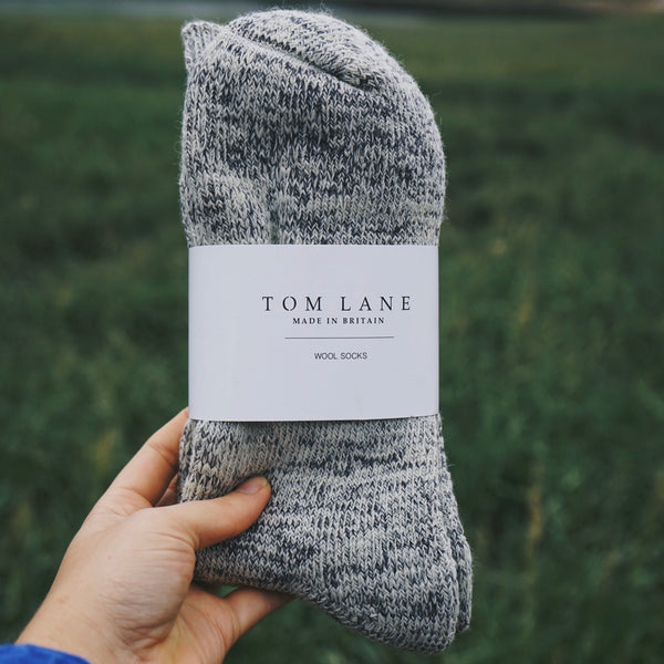 Thick Fleck Wool Socks