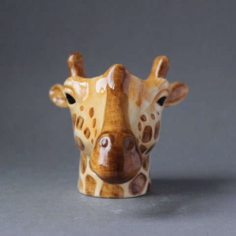 Quail 'Giraffe' Ceramic Animal Egg Cup