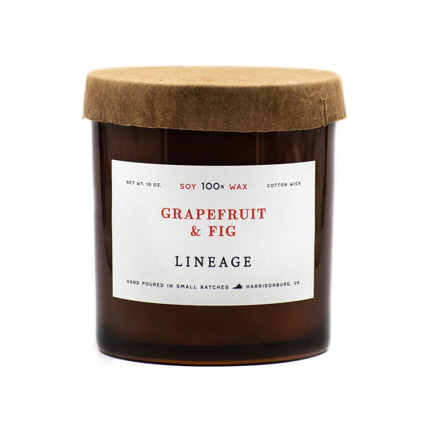 Grapefruit & Fig Soy Candle