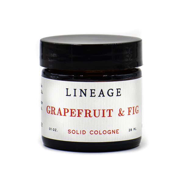 Grapefruit & Fig Solid Cologne