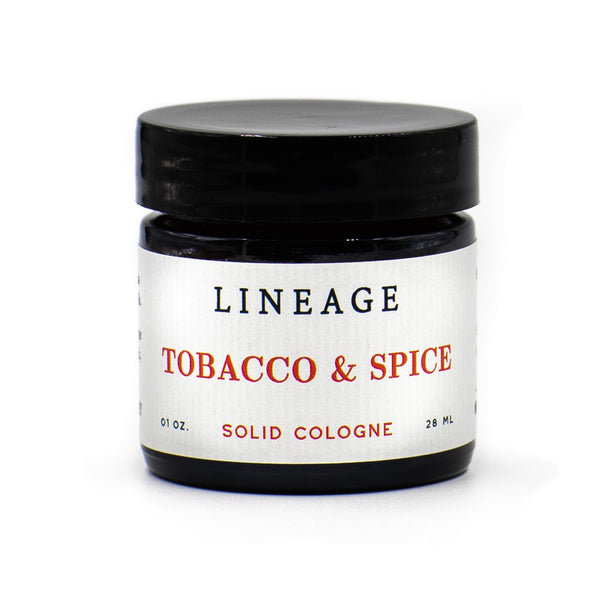 Tobacco and Spice Solid Cologne