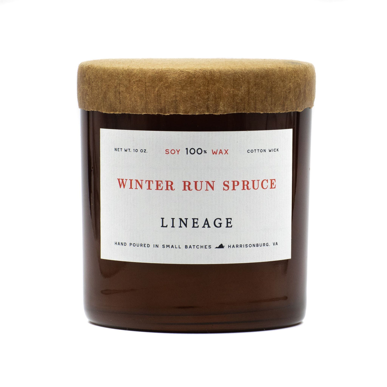 Winter Run Spruce Soy Candle